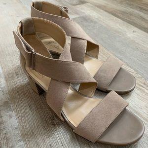 'Naturalizer' Adele Camel Dress Sandal | US 8.5